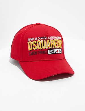 6c04e1934d027 Dsquared2 Embroidered Cap Dsquared2 Embroidered Cap