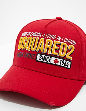 6b4dbf8e7b6c5 Dsquared2 Embroidered Cap Dsquared2 Embroidered Cap