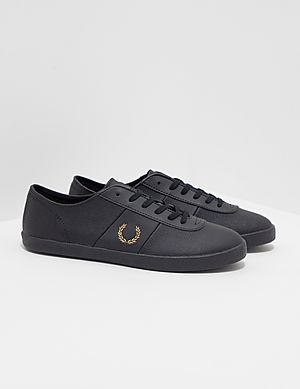 7c0cf47e27b94 Fred Perry x Miles Kane Leather Trainers ...