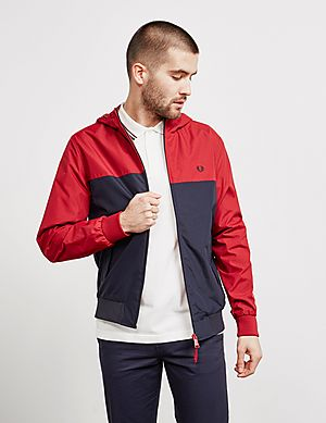 29e93f9313f5 Fred Perry Panel Brentham Lightweight Jacket ...
