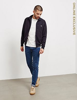321a7091fb2d Fred Perry Utility Lightweight Track Jacket Fred Perry Utility Lightweight  Track Jacket