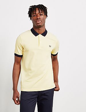 10e311be8a Fred Perry Contrast Collar Short Sleeve Polo Shirt ...