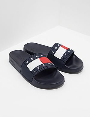 325cc5385c6 Tommy Jeans Flag Slides Women s ...