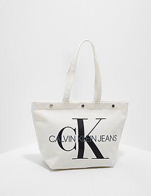 a2b9fe53734c Calvin Klein Jeans Canvas Utility Tote Bag ...