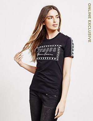 b32af60d0dc66 Versus Versace Heart Box Short Sleeve T-Shirt ...