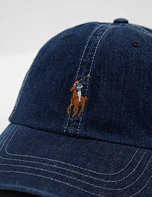 7068b9192dc96 Polo Ralph Lauren Denim Pony Cap Polo Ralph Lauren Denim Pony Cap
