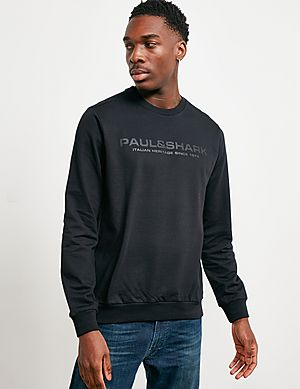 8dc28676925 Paul and Shark Carbon Logo Sweatshirt ...