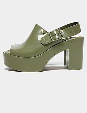 8021410518f93e Melissa x Vivienne Westwood Mule Sling Back Heels ...