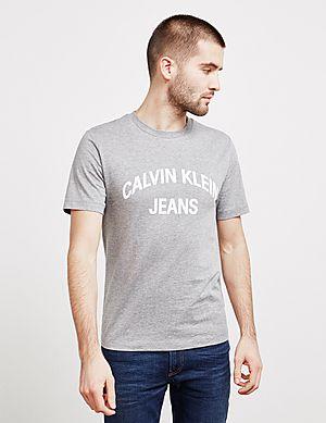 0c8cf61b728e9 Calvin Klein Jeans Arch Logo Short Sleeve T-Shirt ...
