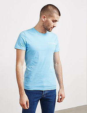 22580a54f0f Calvin Klein Small Logo Short Sleeve T-Shirt ...