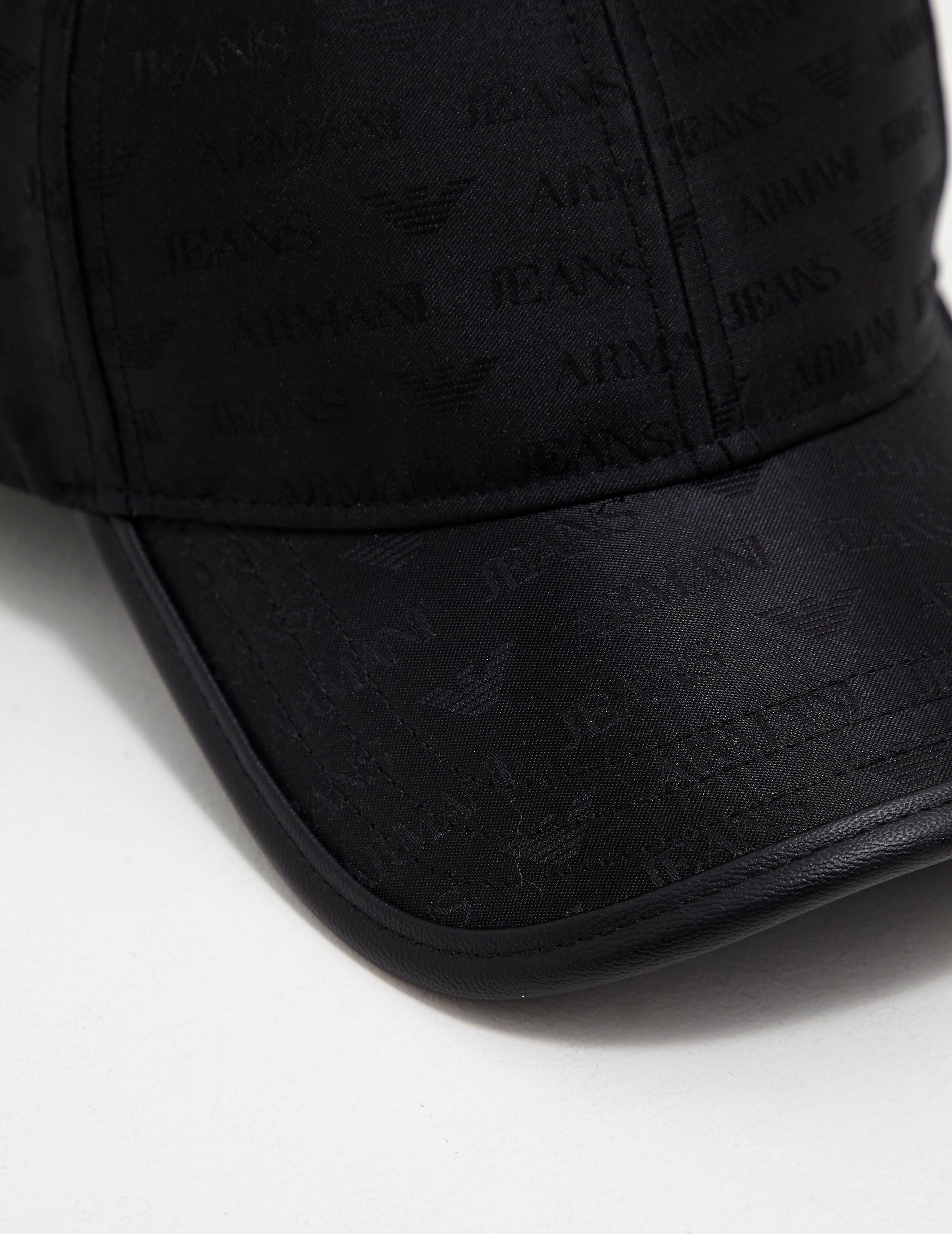 Armani Jeans Nylon Print Cap
