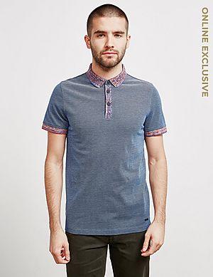 82bf93adabb BOSS Punch Space Short Sleeve Polo Shirt ...
