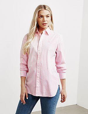 8a1216baa4 Polo Ralph Lauren Ellen Stripe Long Sleeve Shirt ...