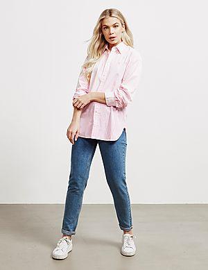 e2d41570b5 ... Polo Ralph Lauren Ellen Stripe Long Sleeve Shirt