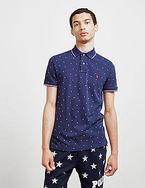 d8dce464ac53 Polo Ralph Lauren All Over Star Short Sleeve Polo Shirt ...