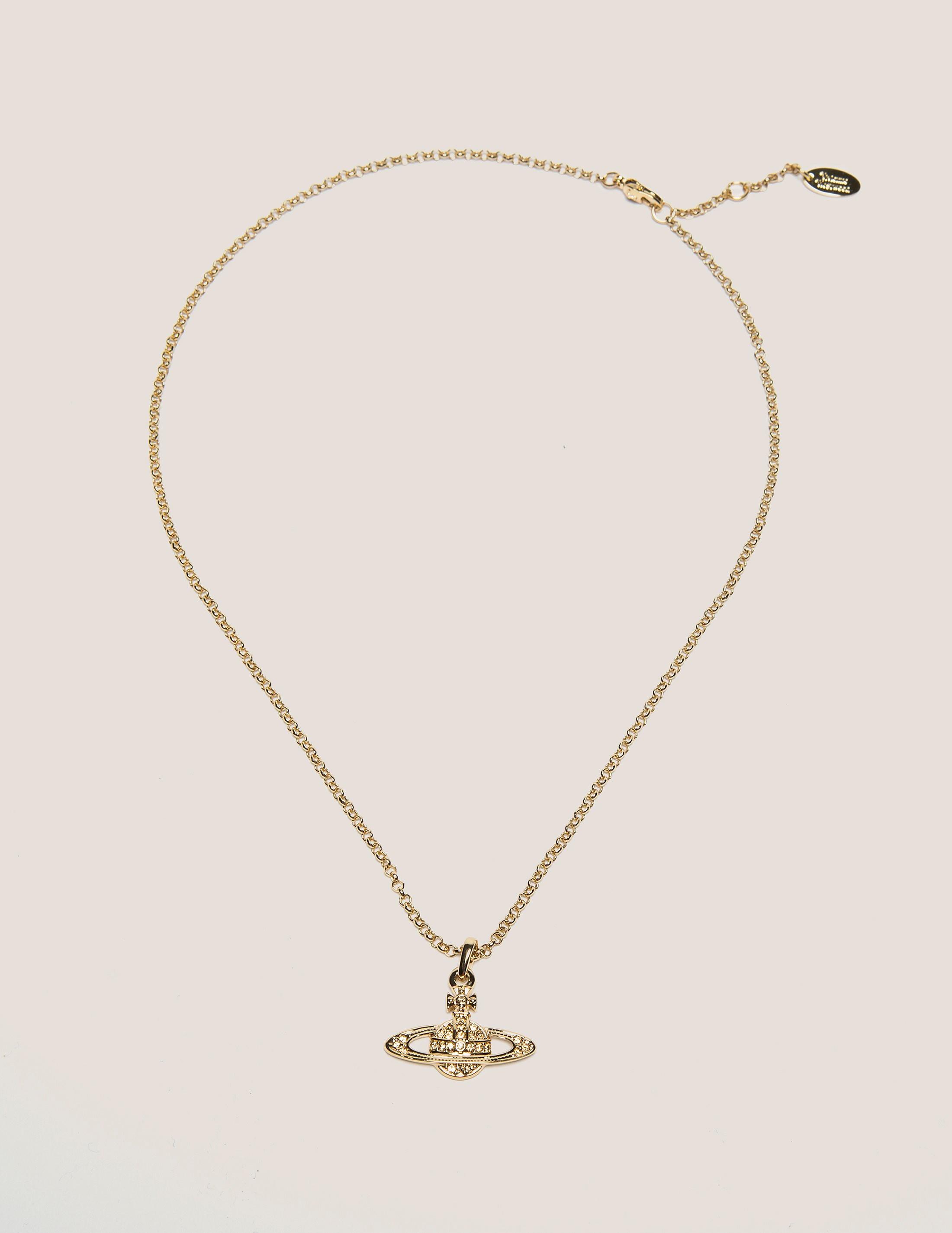 Vivienne Westwood Mini Bas Relief Pendant Necklace