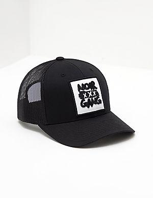 fbb1f00e68b societe NOIR Gang Logo Cap ...