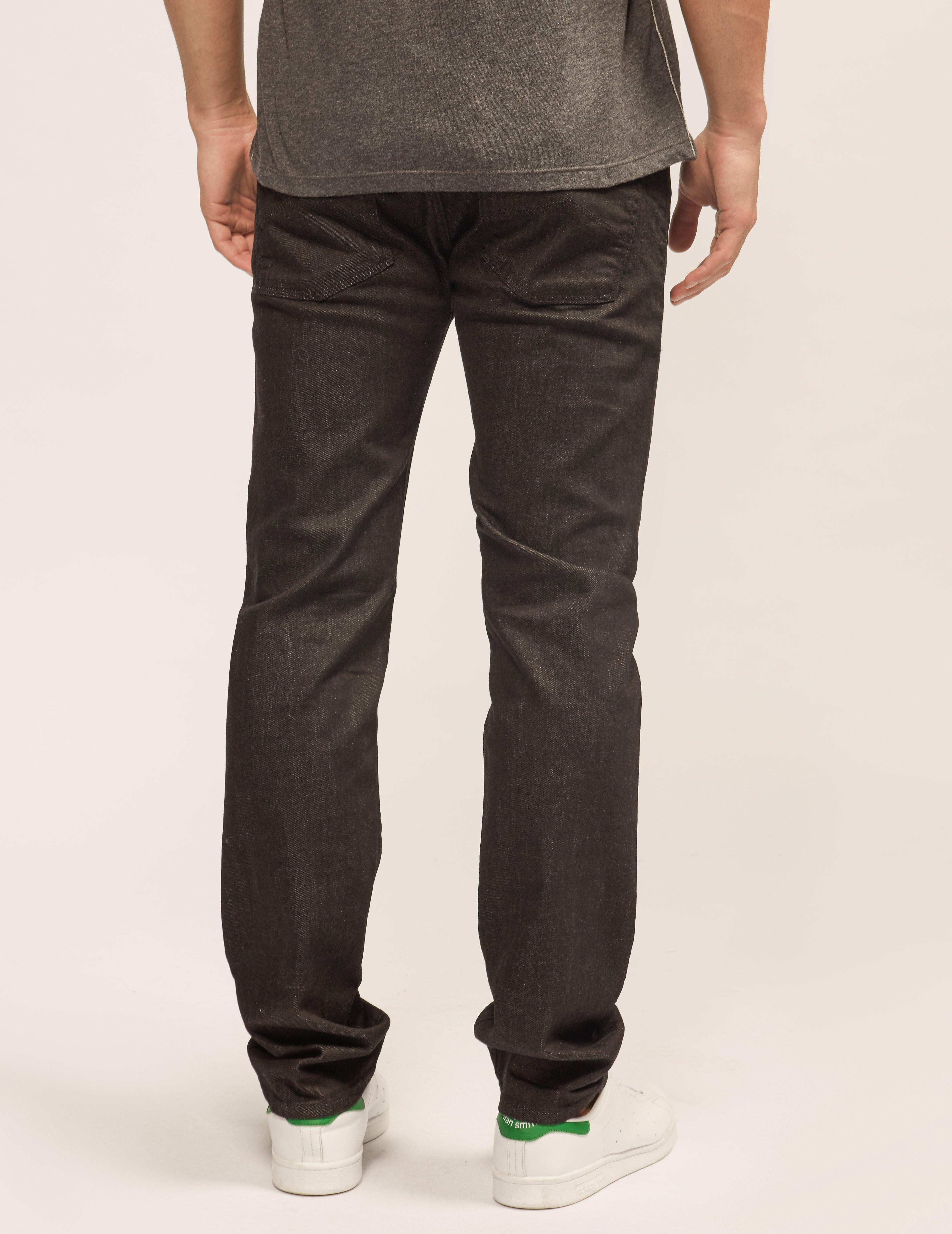 Armani Jeans J45 Regular Fit Bull Denim Jeans