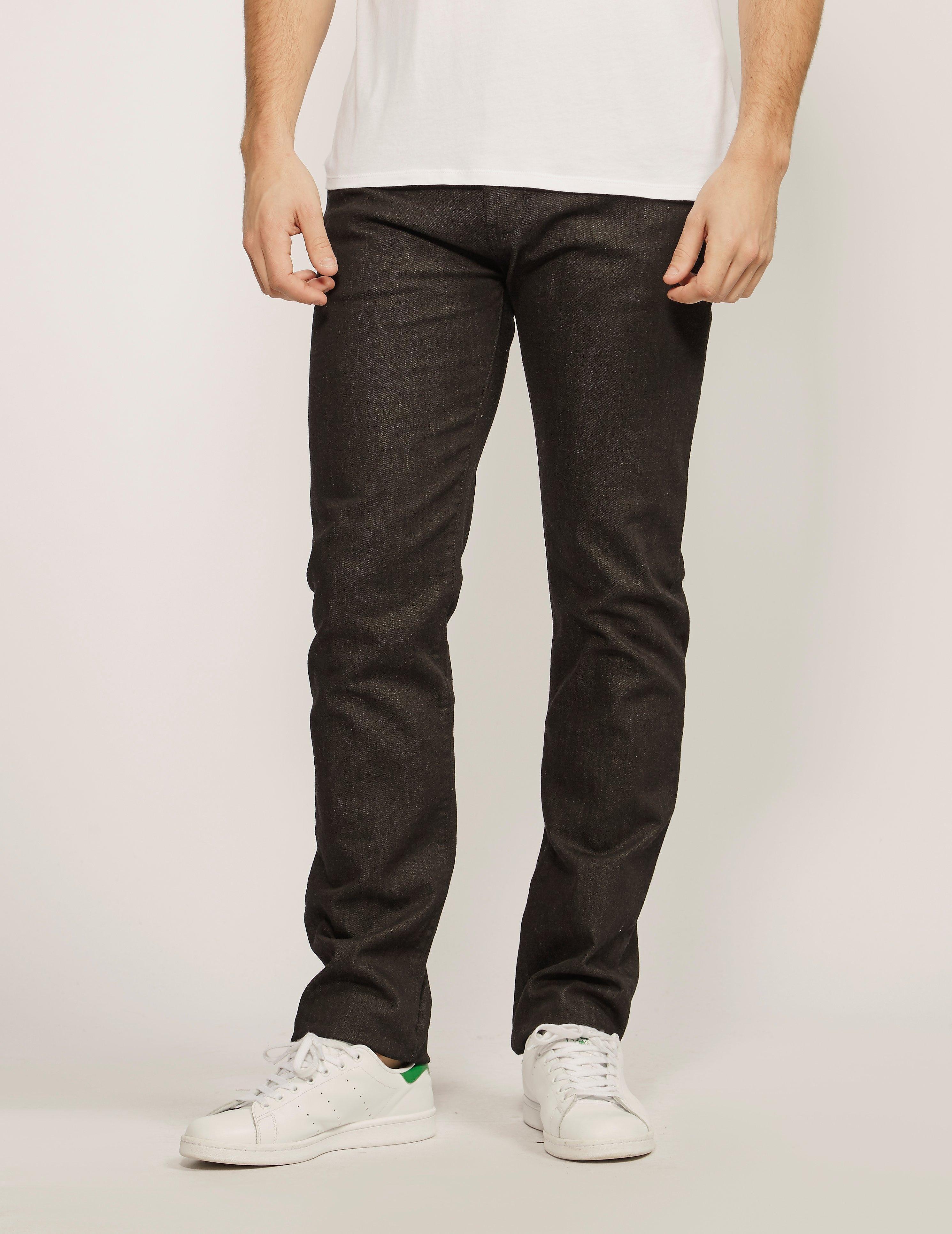 Armani Jeans J45 Bull Denim Regular Fit Jeans - Long