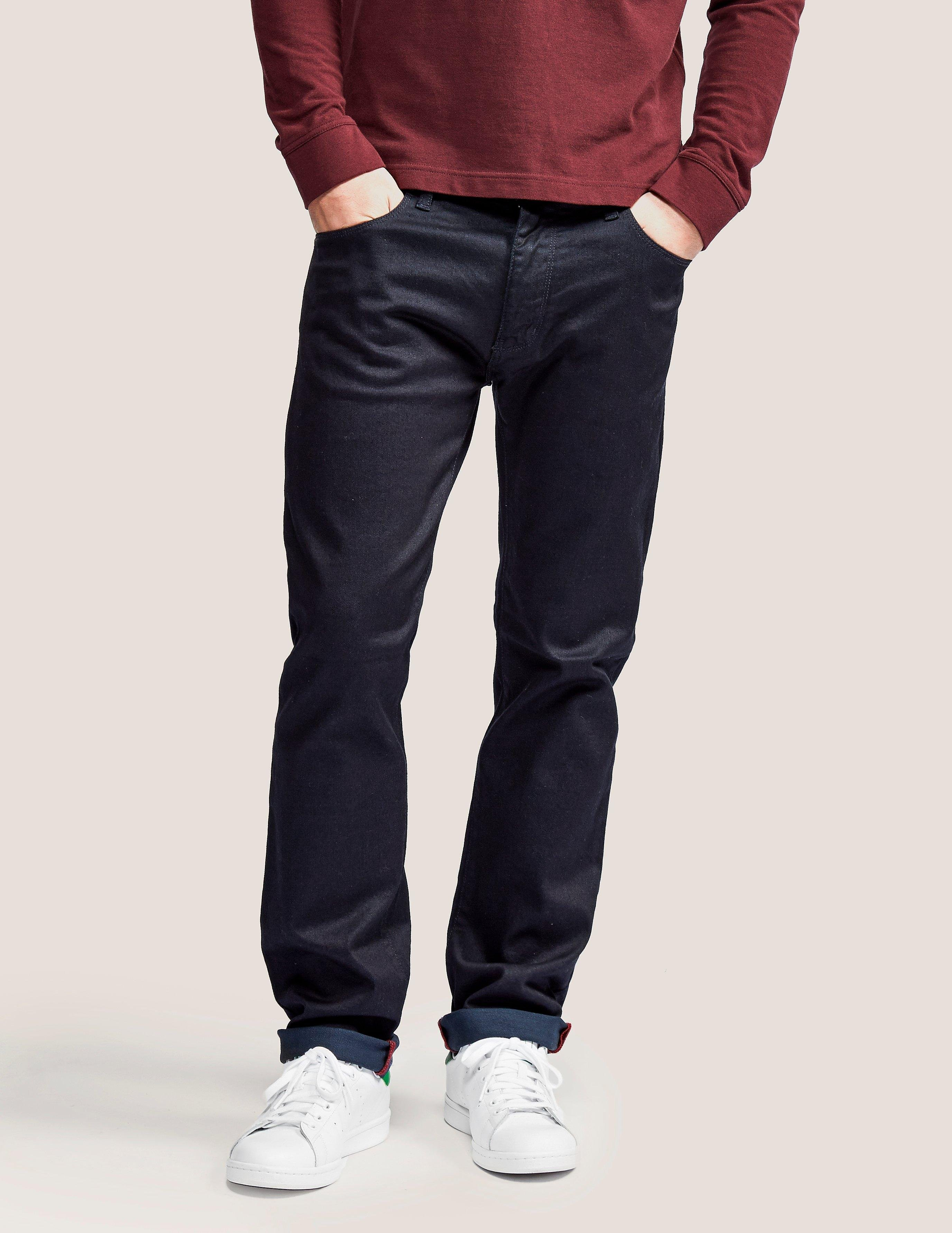 Armani Jeans J45 Overdye Regular Fit Jeans - Long