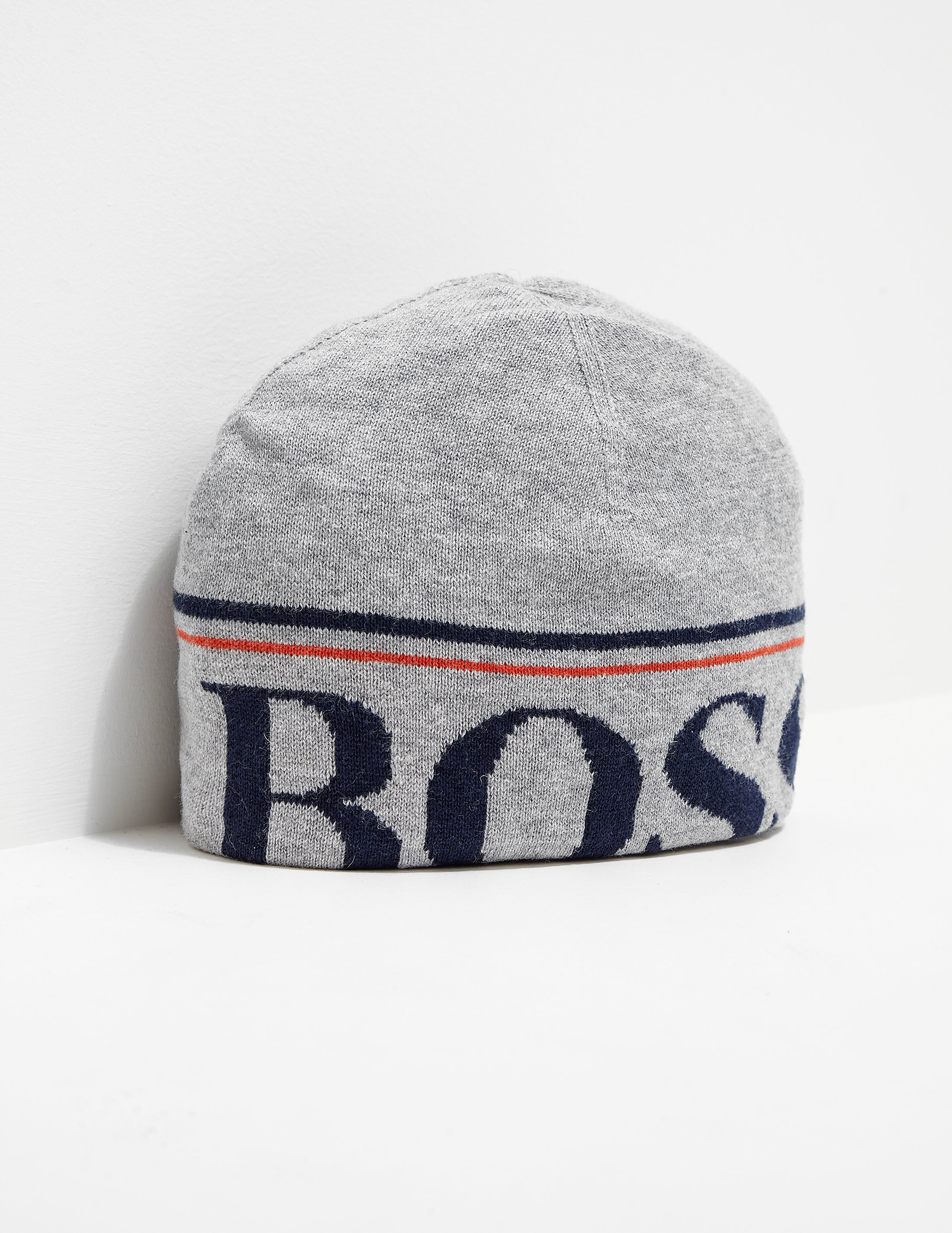 BOSS Kids' Logo Beanie Hat
