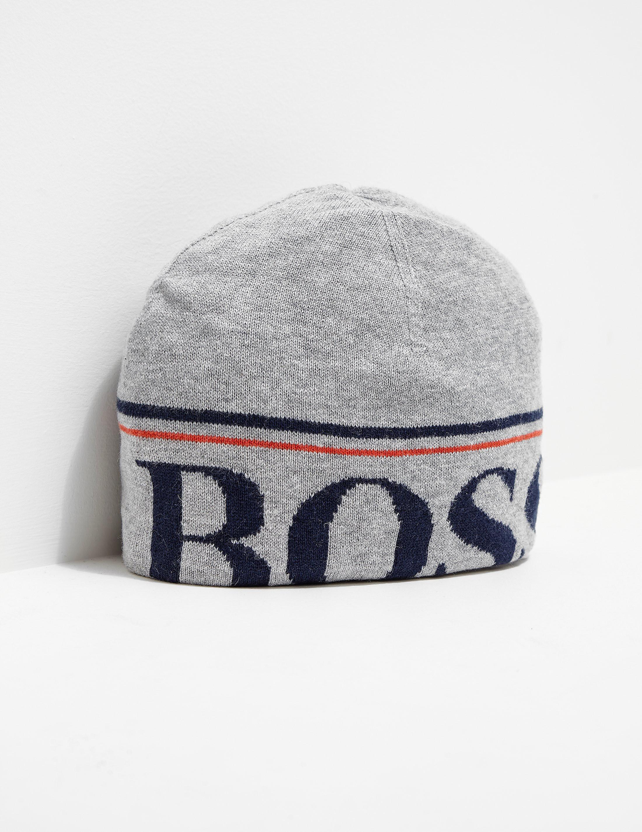 BOSS Kids' Logo Beanie Hat