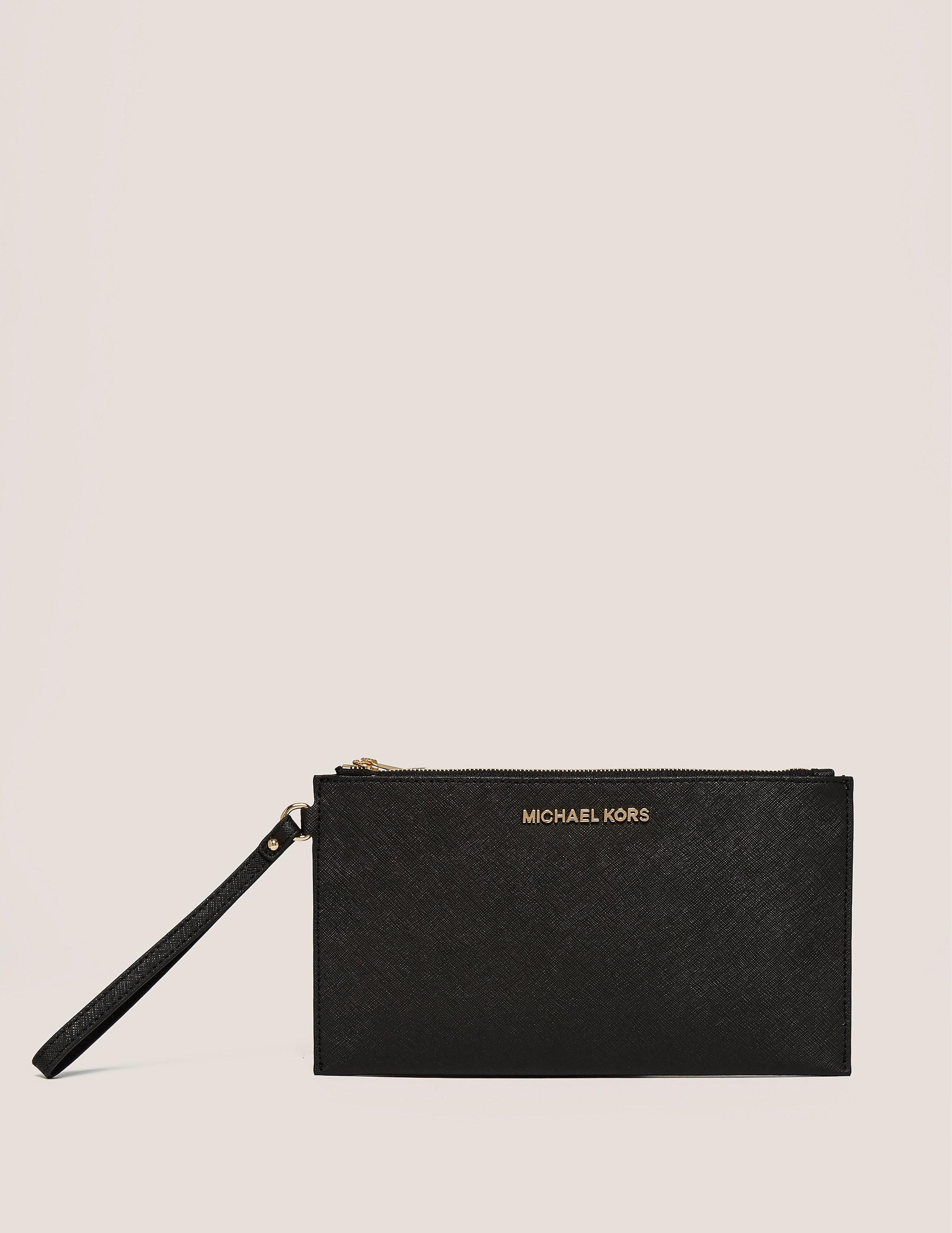 Michael Kors Jet Set Travel Medium Zip Clutch Bag