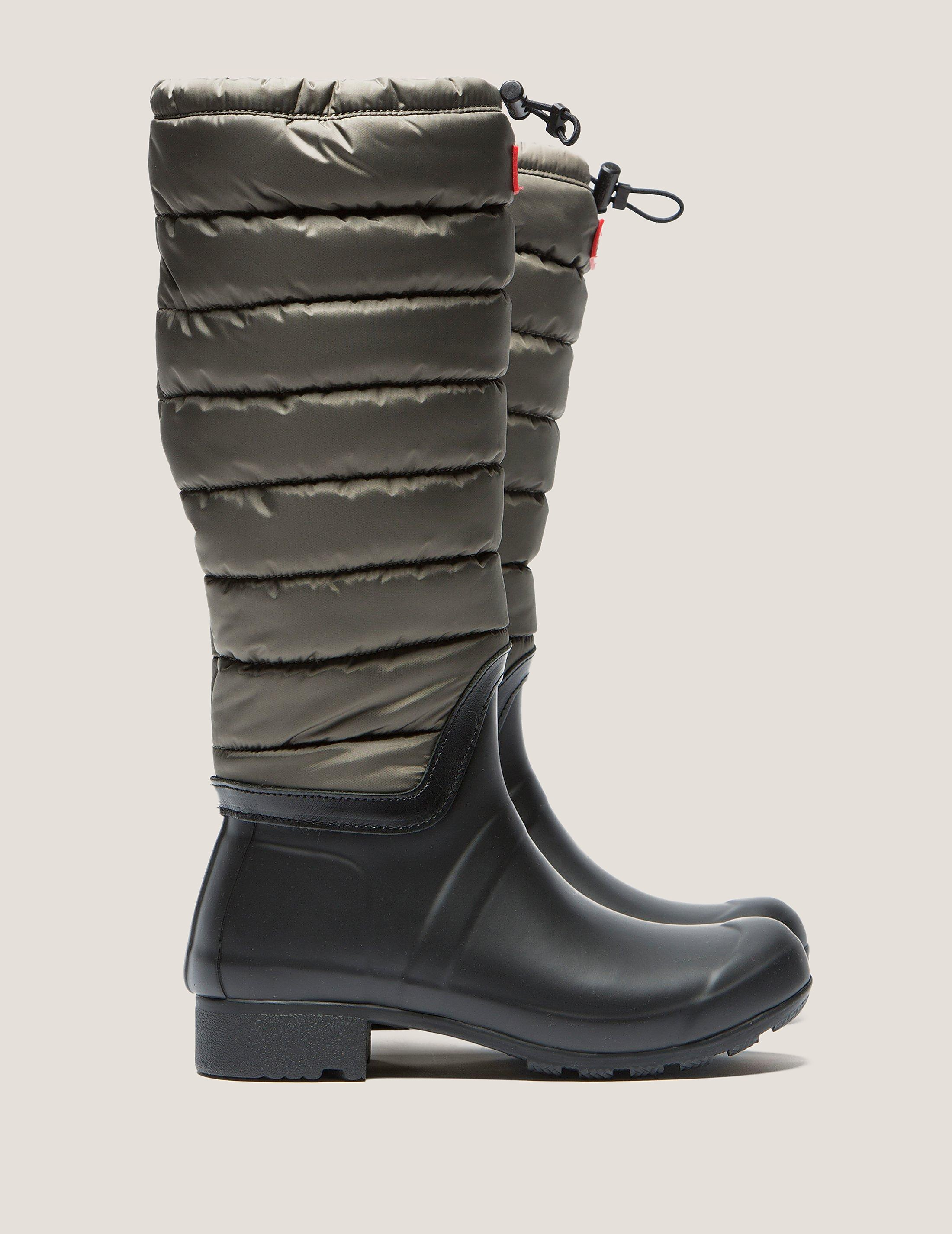 Hunter Original Quilted Leg Boot