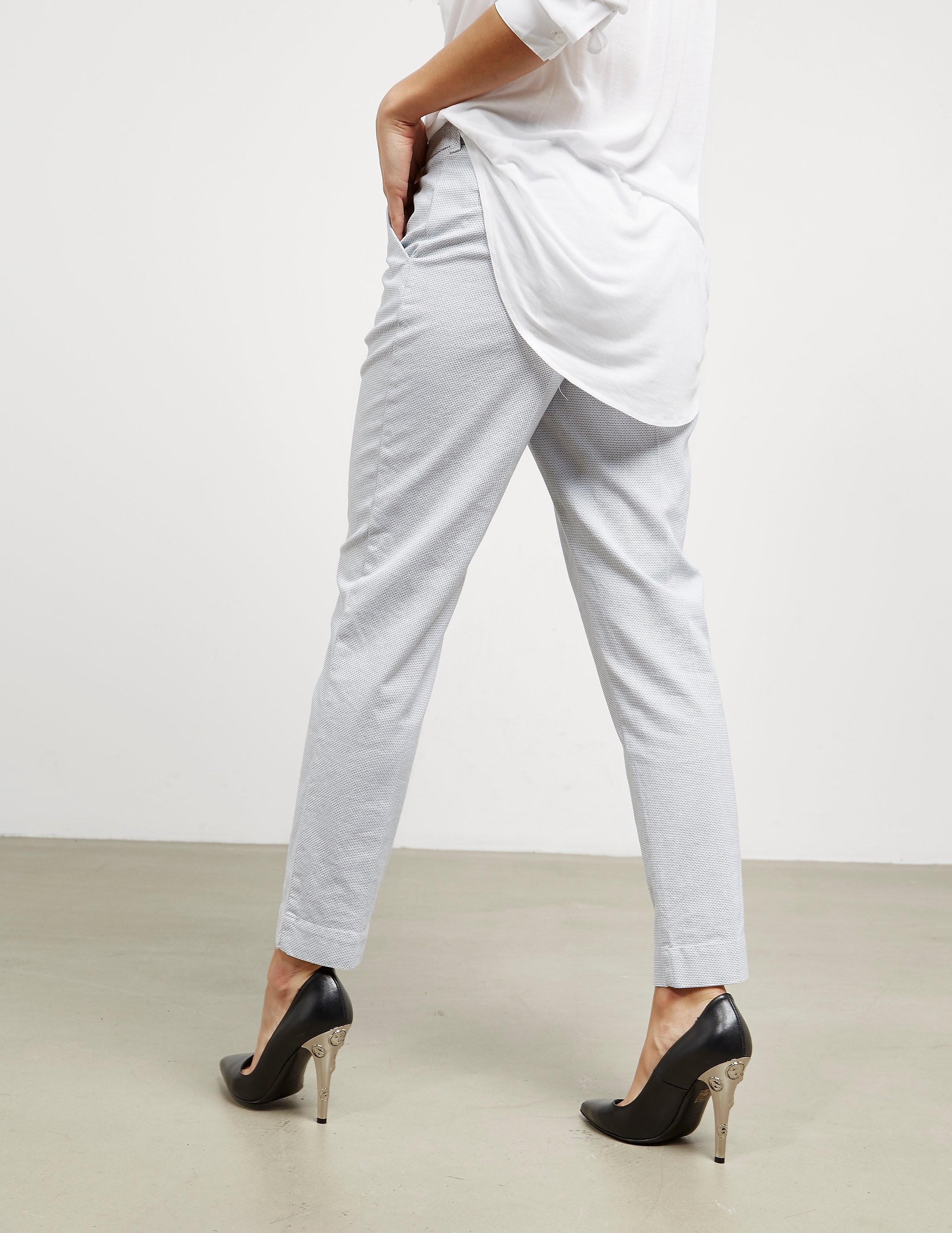 Emporio Armani Small Check Trousers