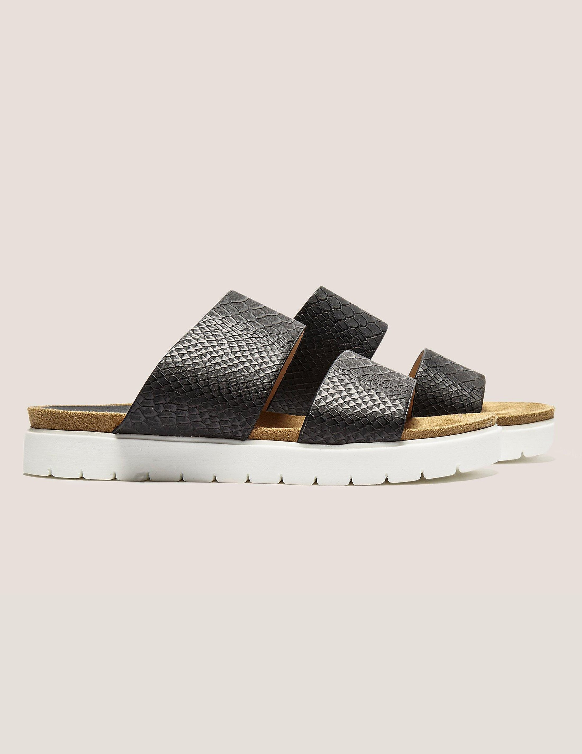 Ilse Jacobsen Snake Double Strap Slide