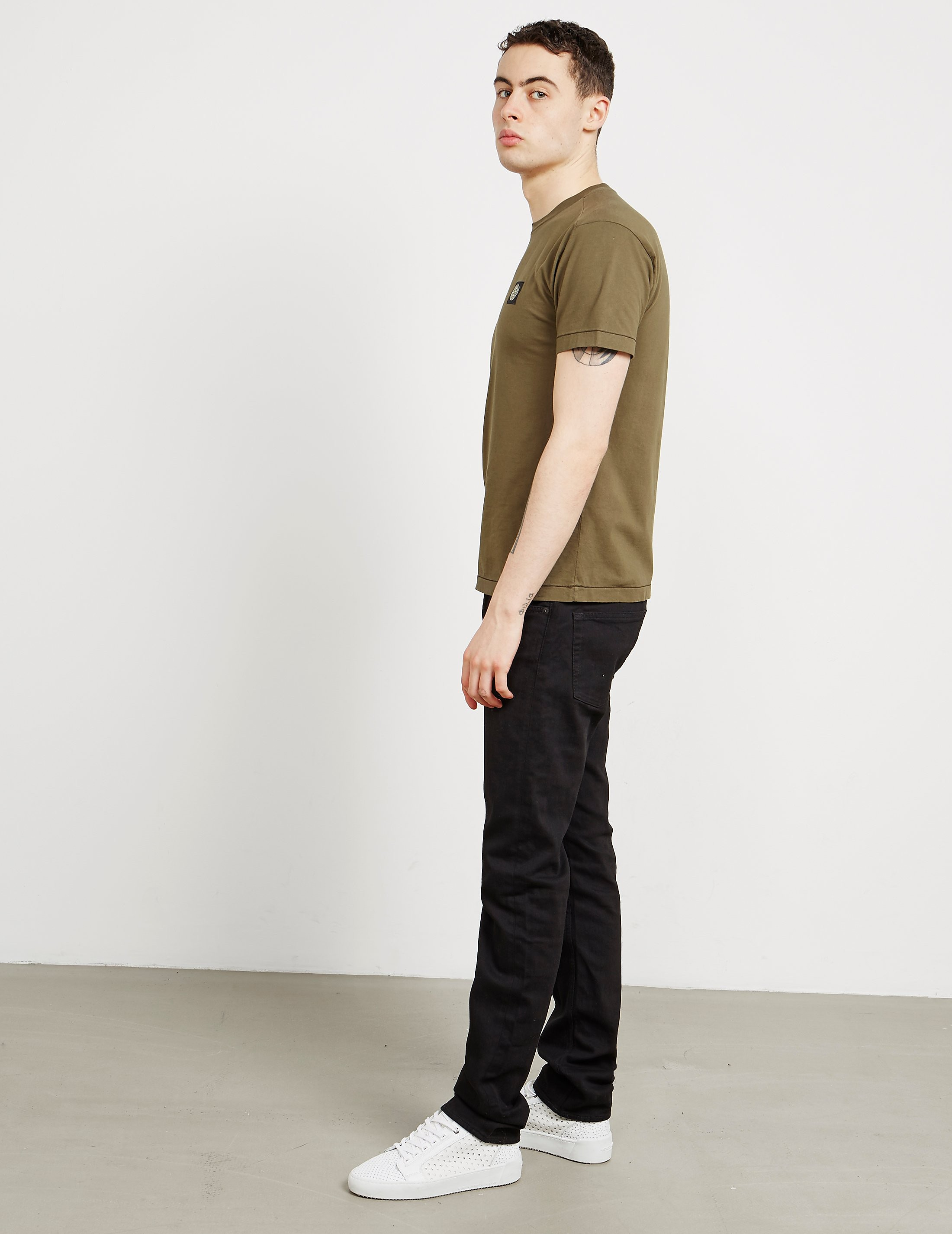 Stone Island Straight Leg Slim Fit Jeans