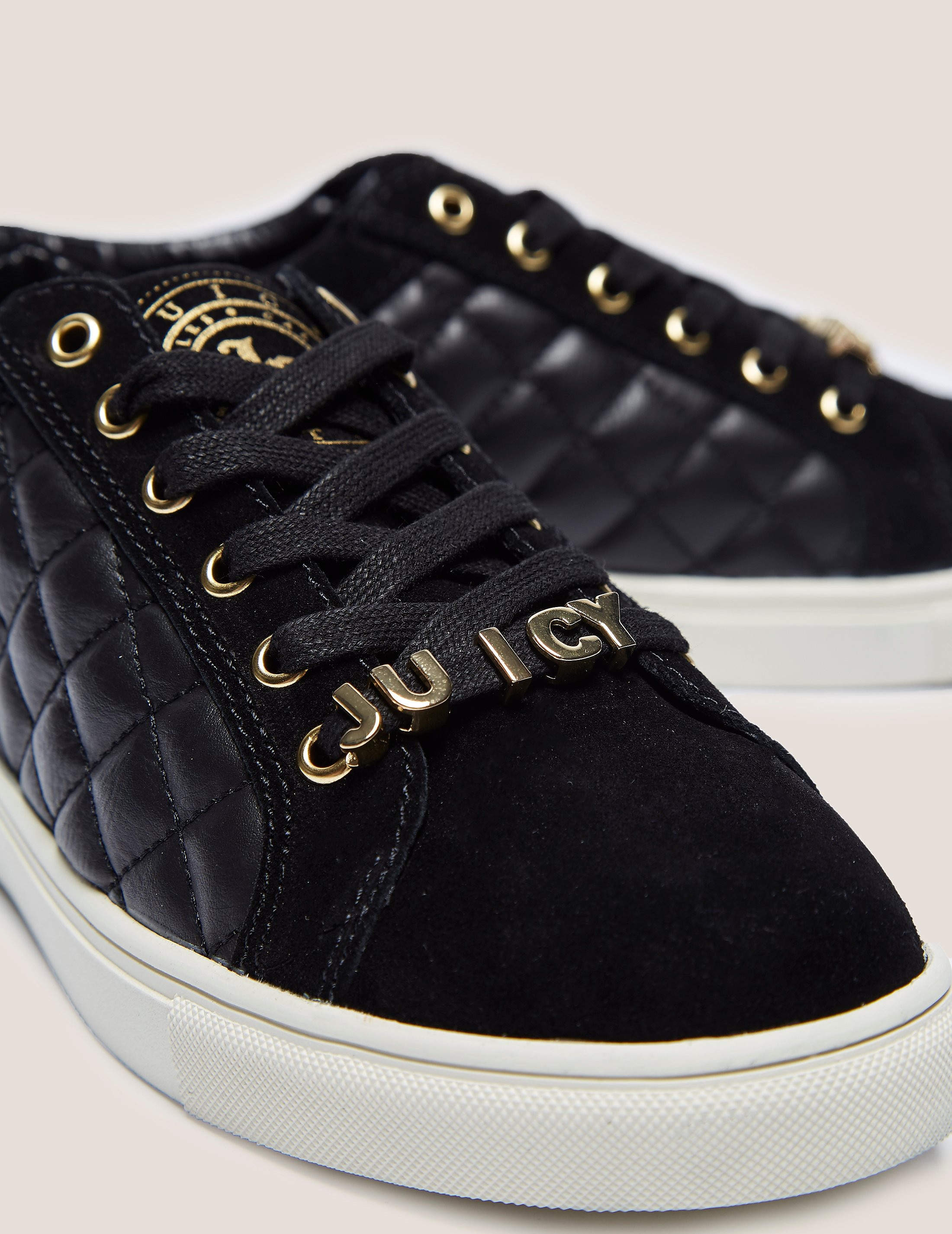 Juicy Couture Lesliee Quilted Trainer