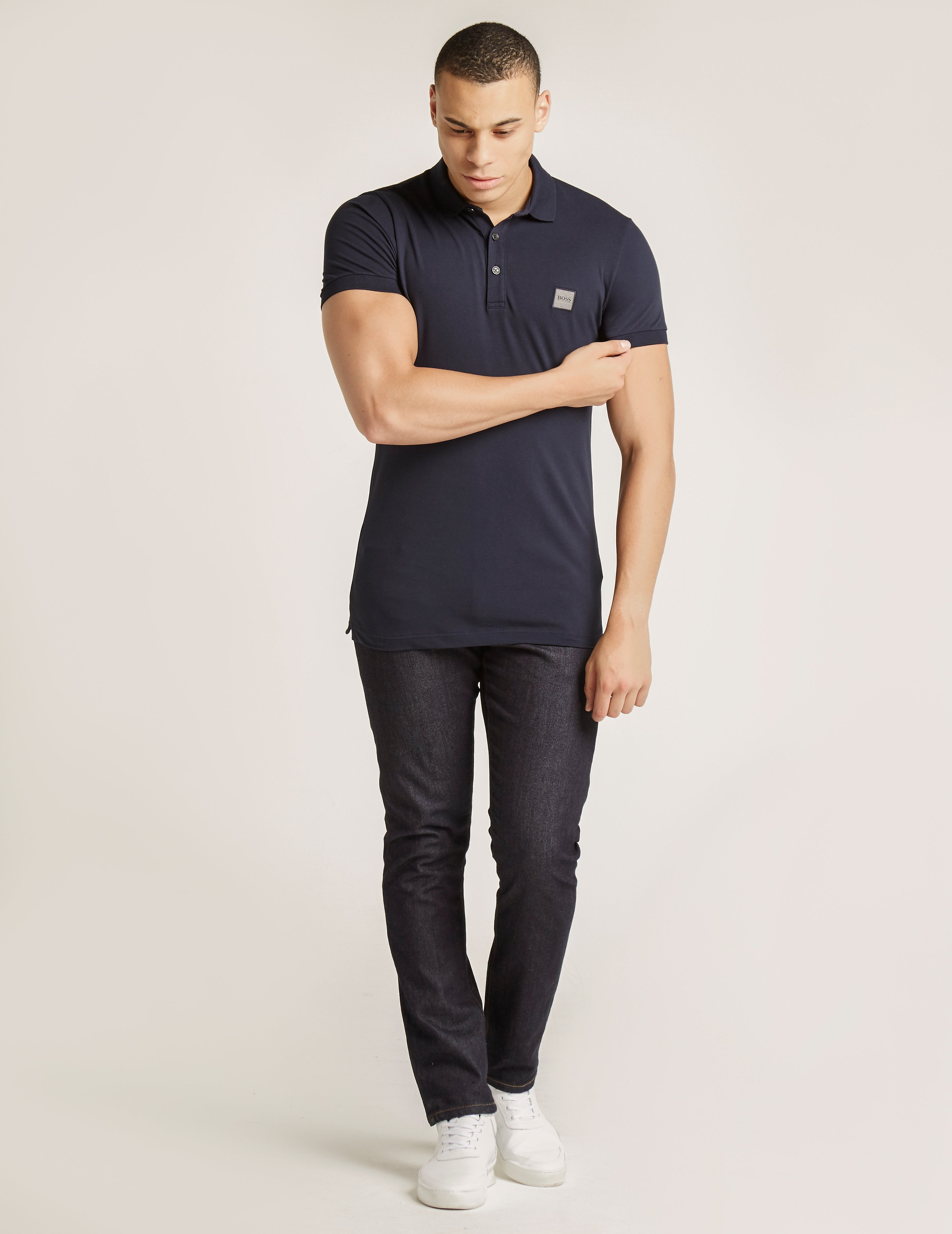 BOSS Orange Pavlik Short Sleeve Polo Shirt