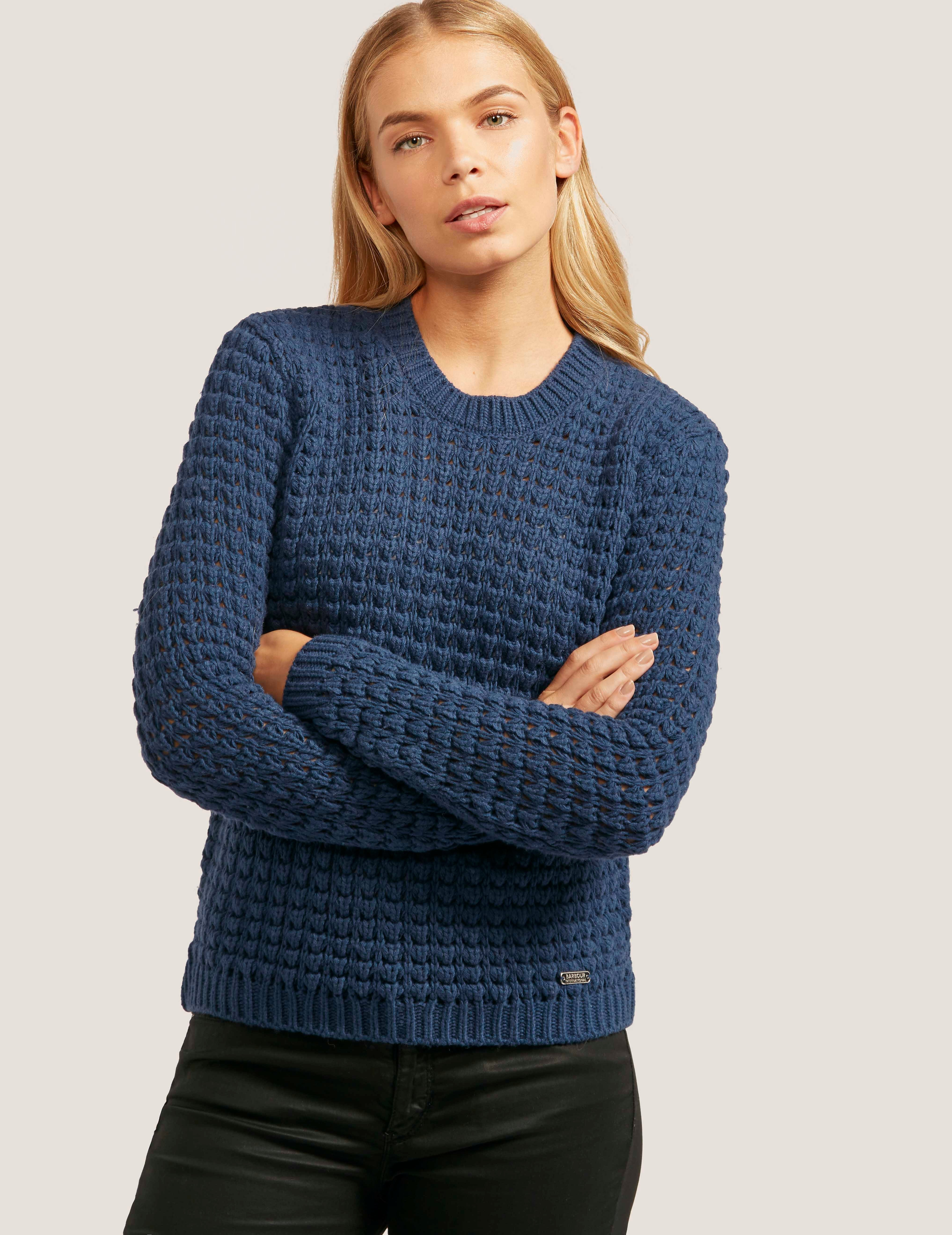 Barbour Enduro Crew Knit Sweater