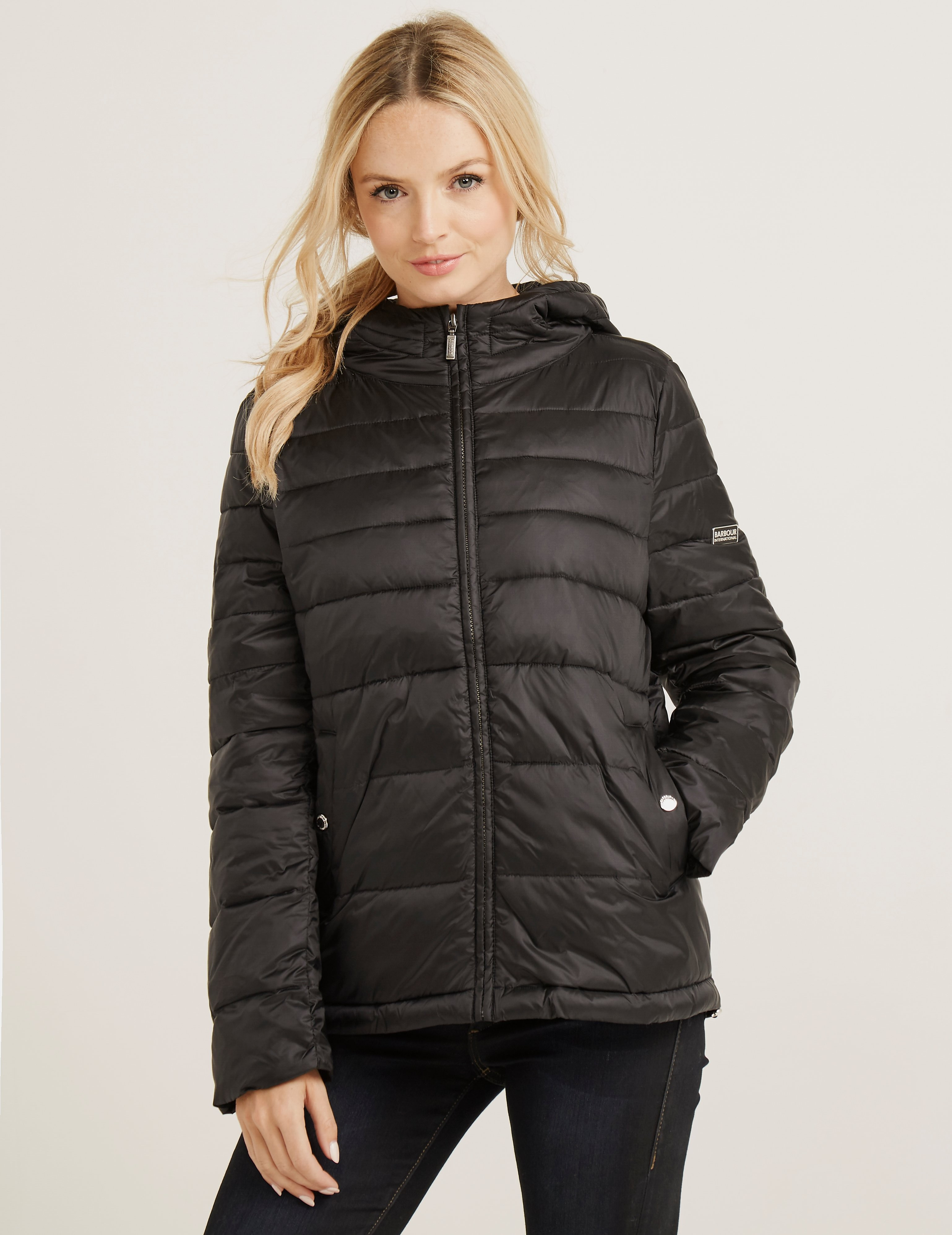 Barbour Helical Baffle Quilted Jacket