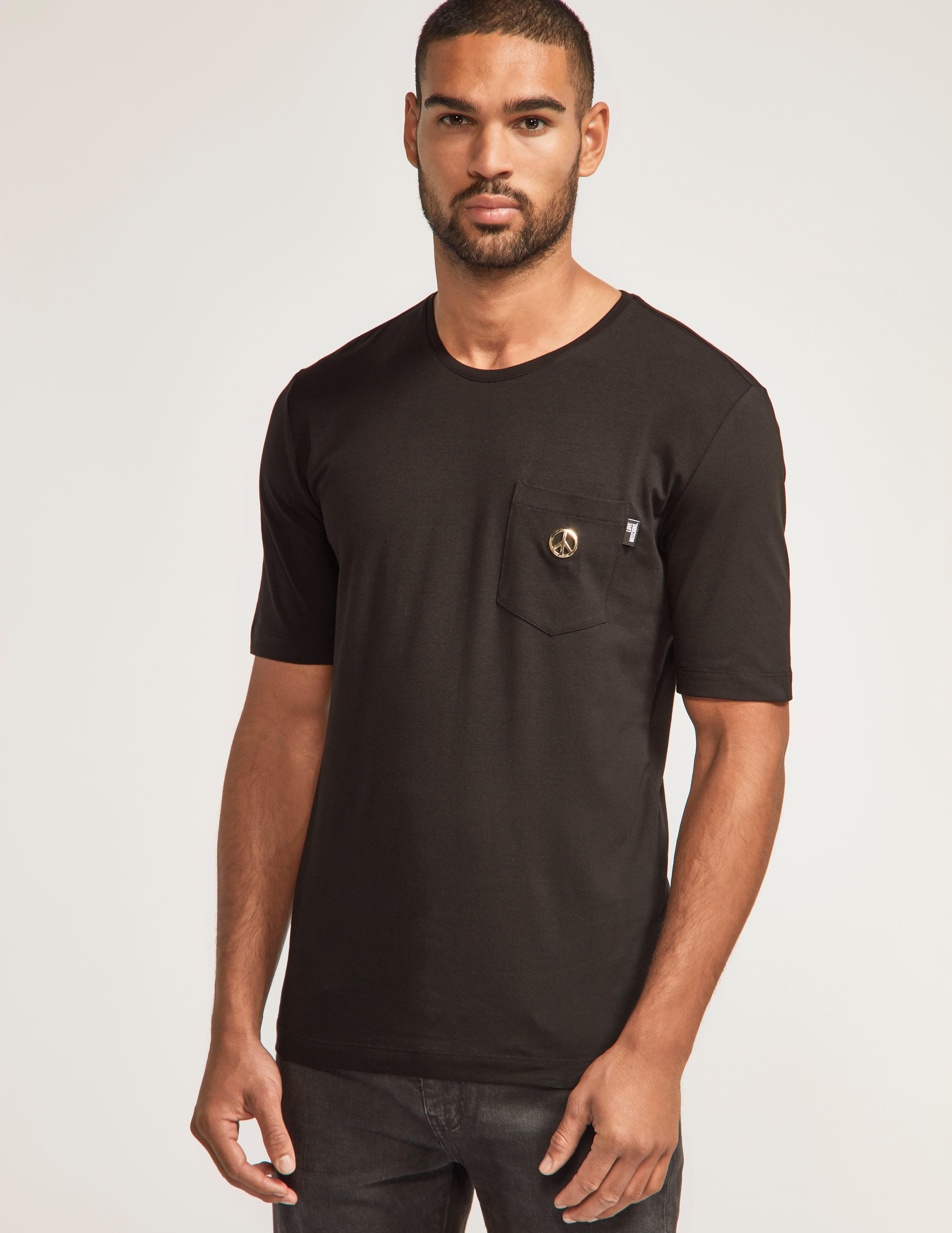 Love Moschino Peace Pocket T-Shirt