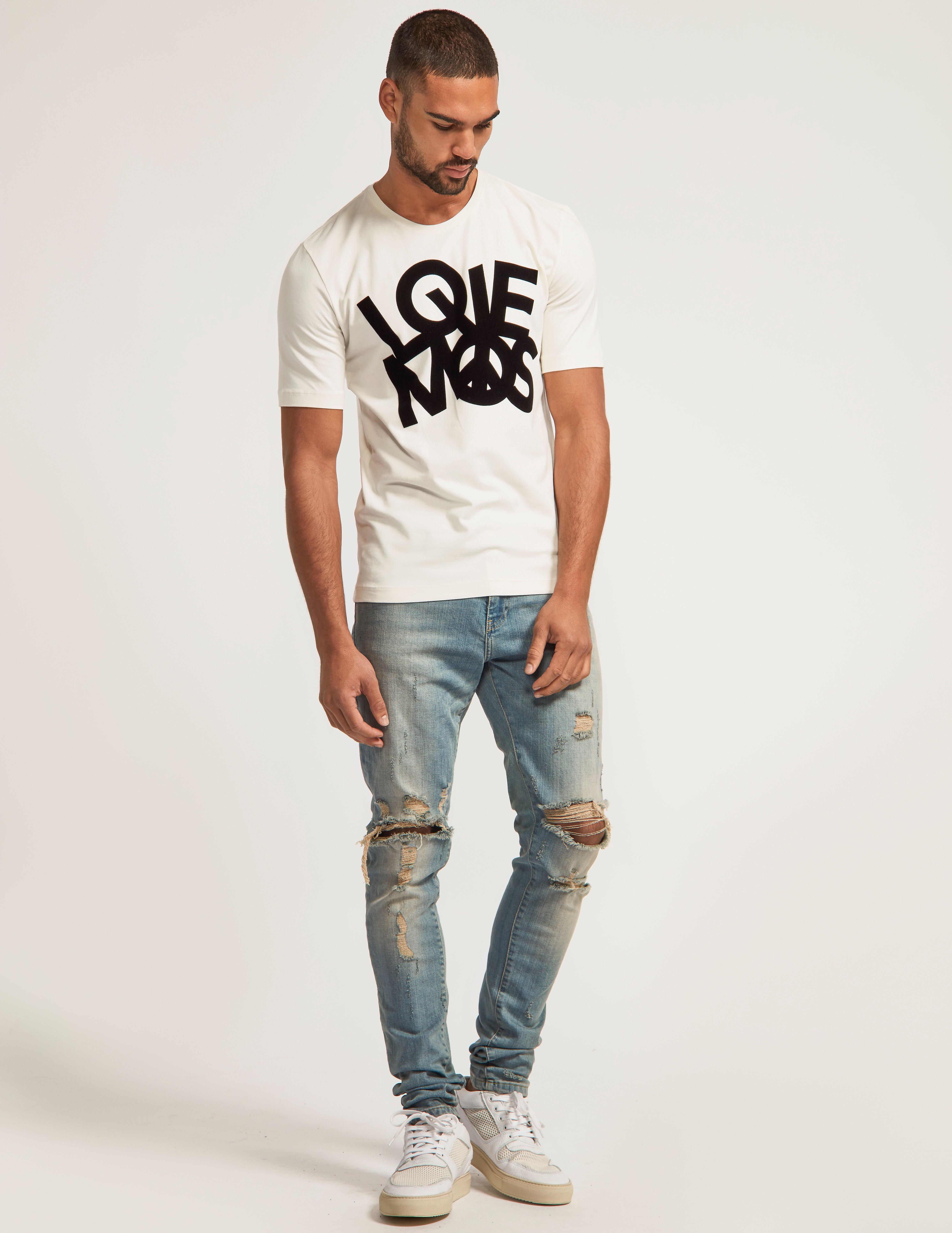Love Moschino Flock LM T-Shirt