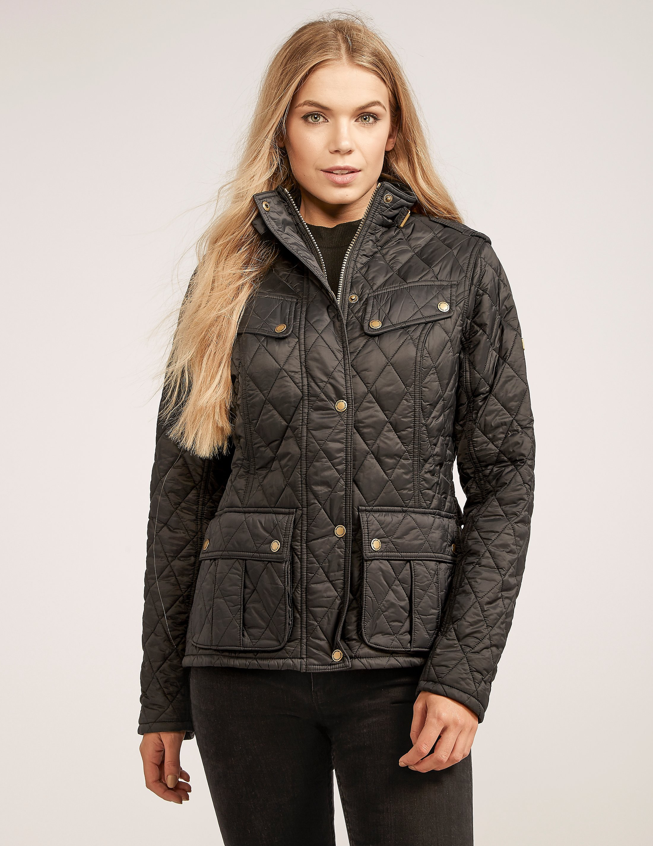 Barbour International Caster Quilted Jacket