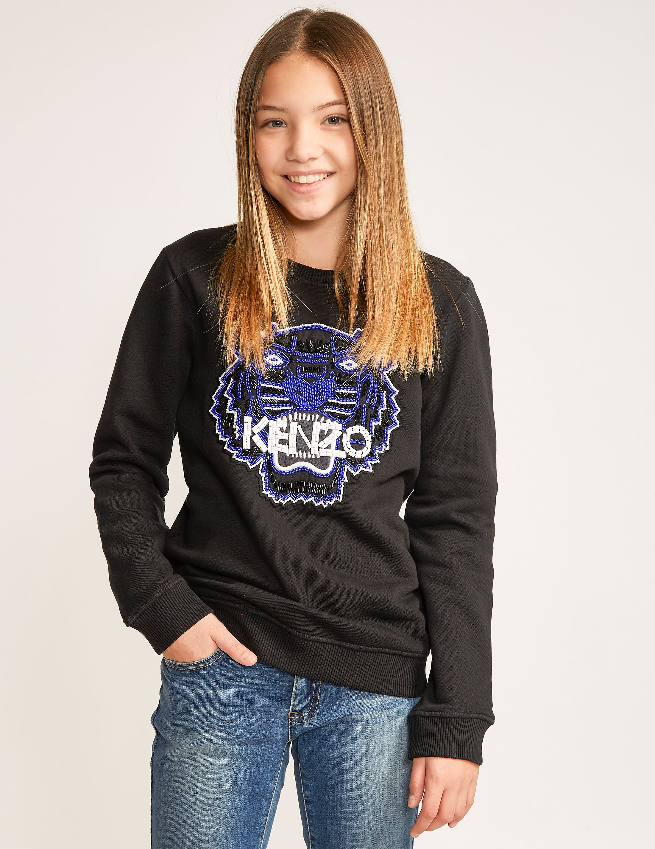 KENZO Embroidered Tiger Sweat