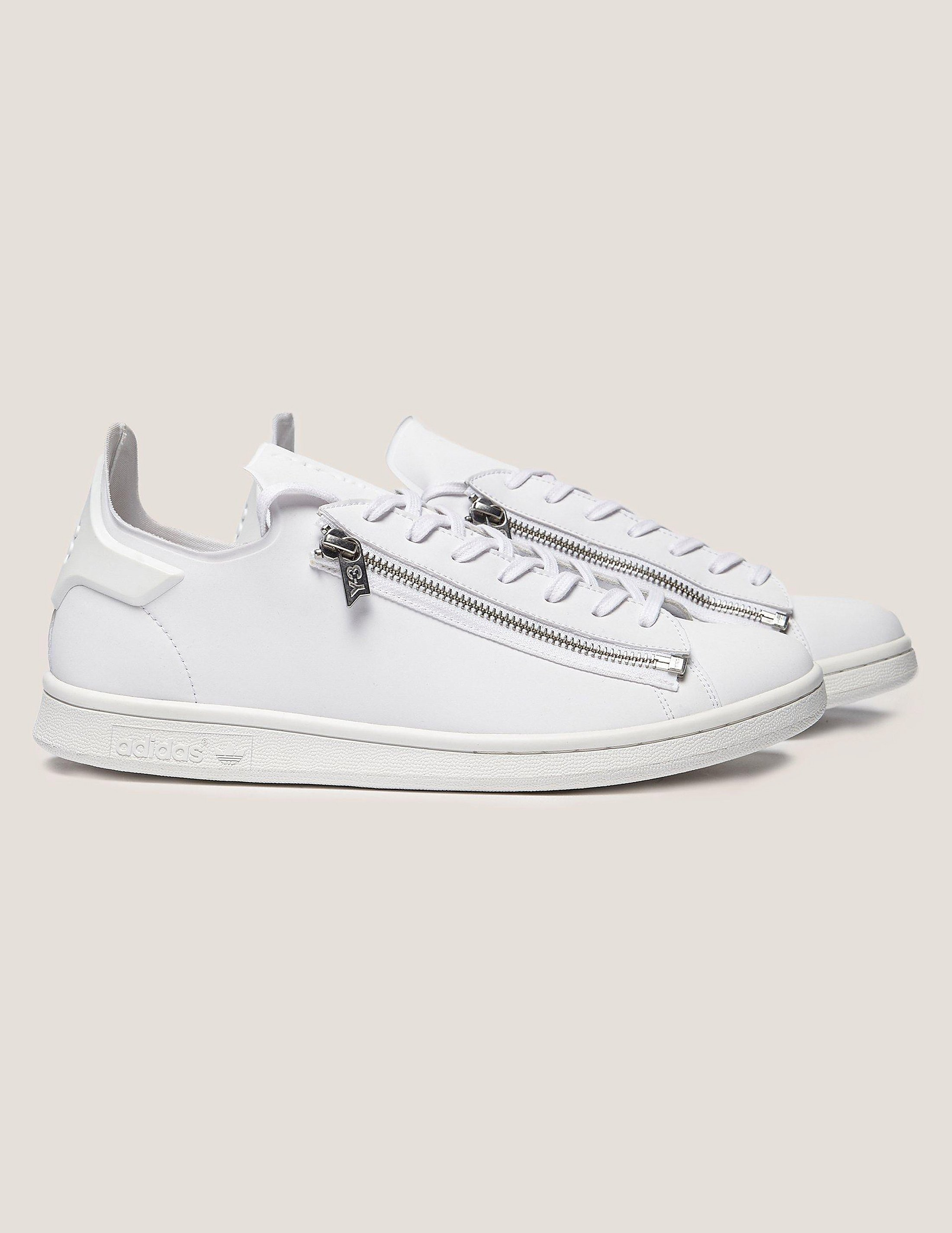 Y-3 Zip Leather Stan
