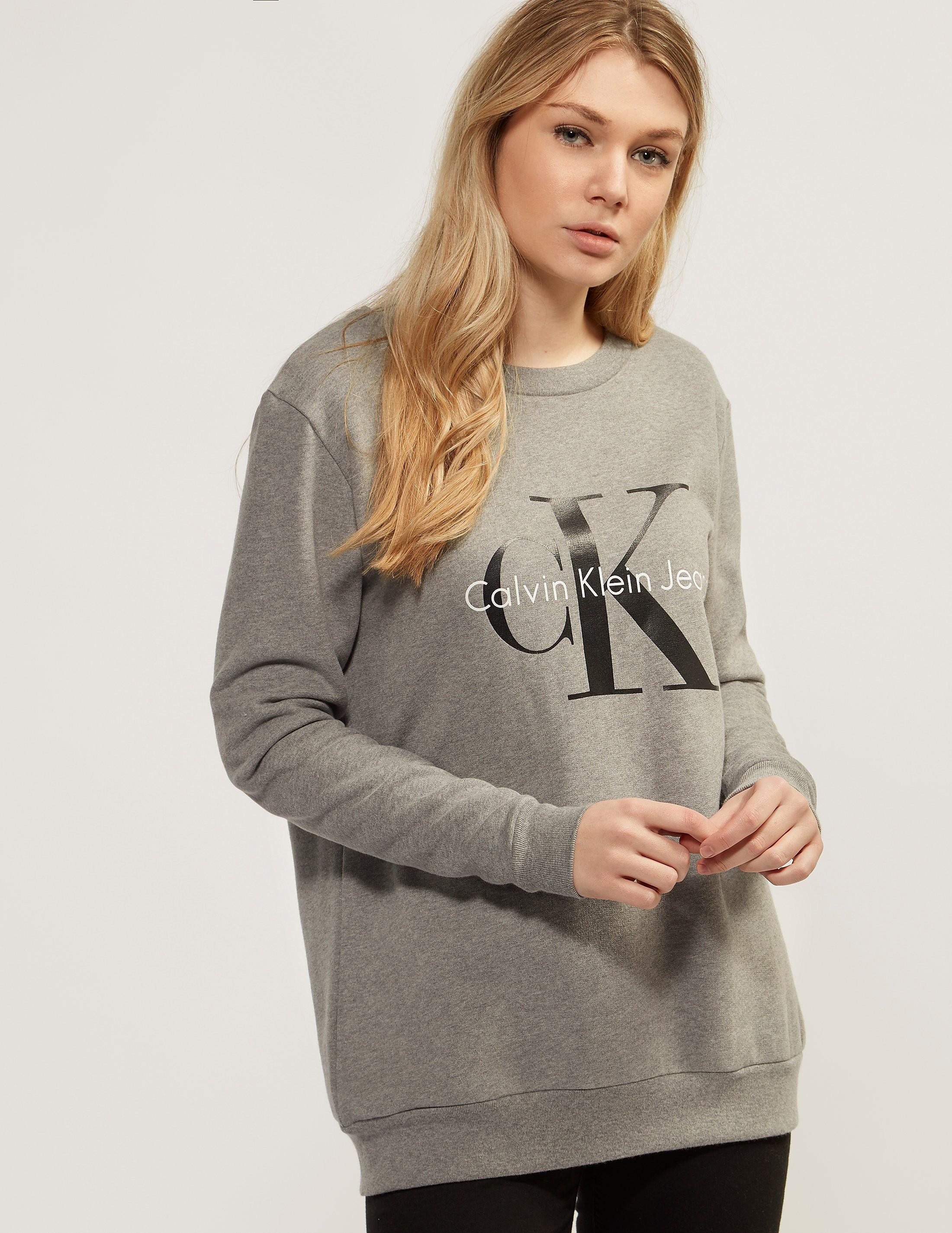 Calvin Klein Crew Logo Sweatshirt