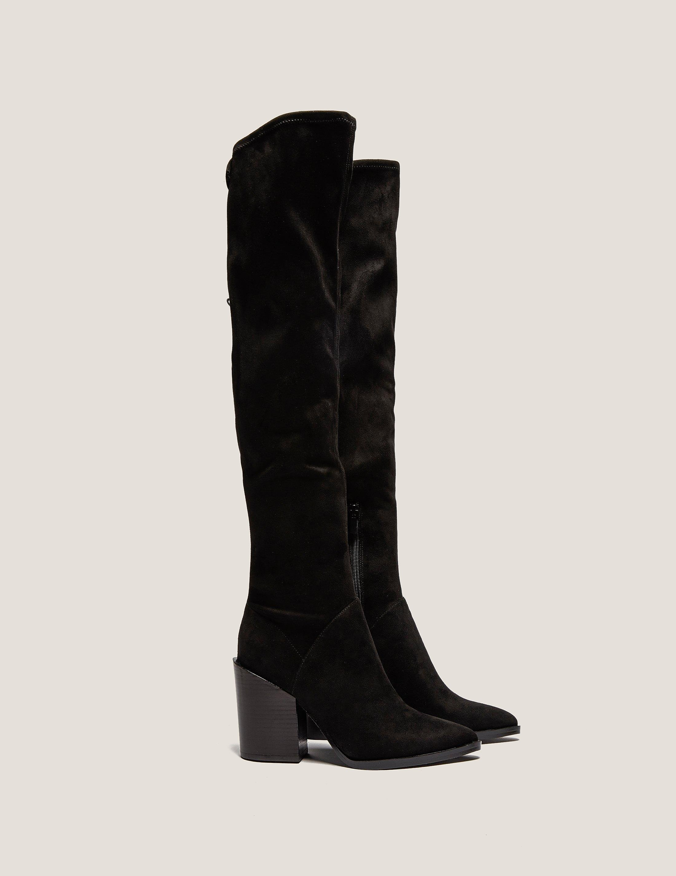 Kendall & Kylie Knee High Black Boots