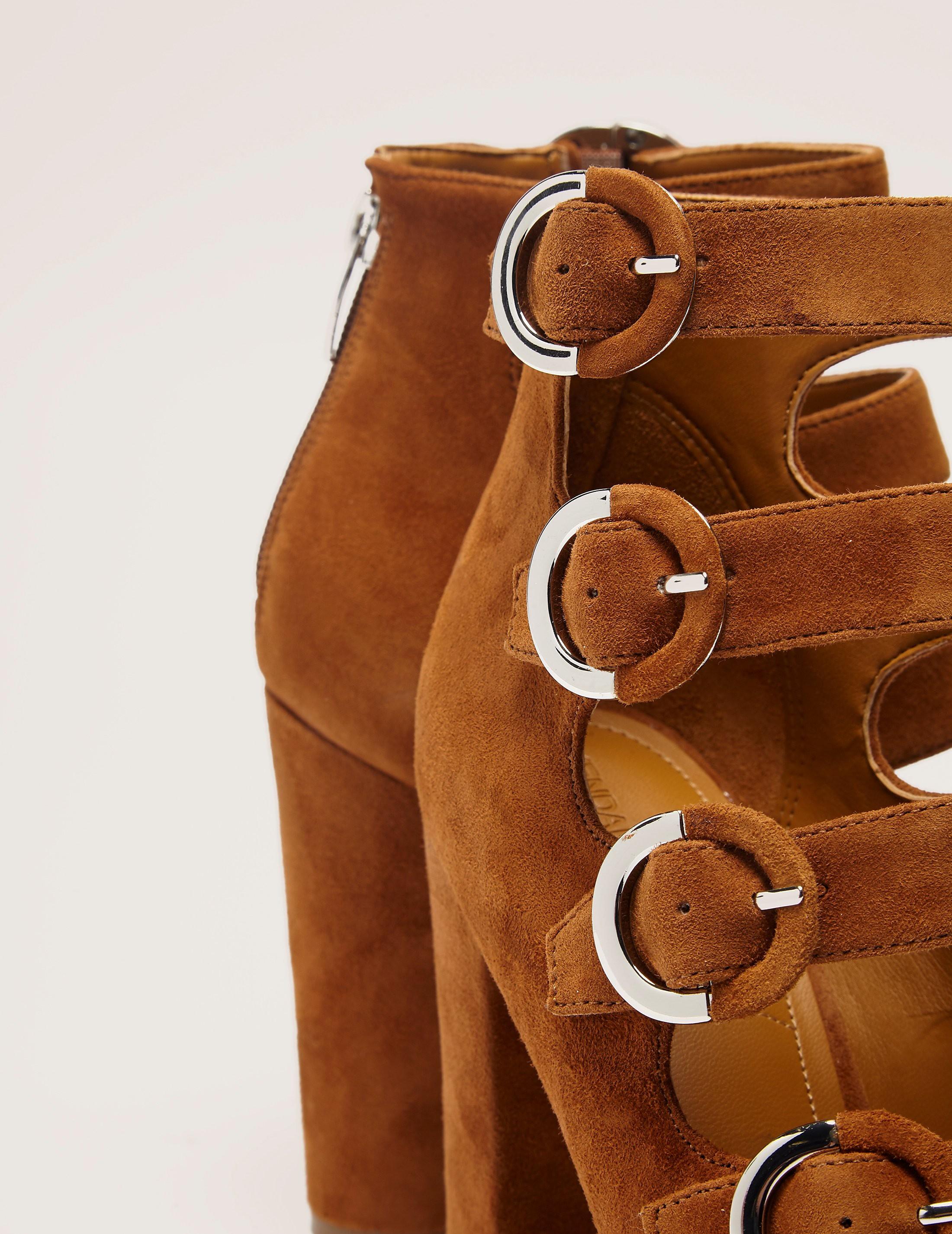 Kendall & Kylie Cutout Strap Block heel