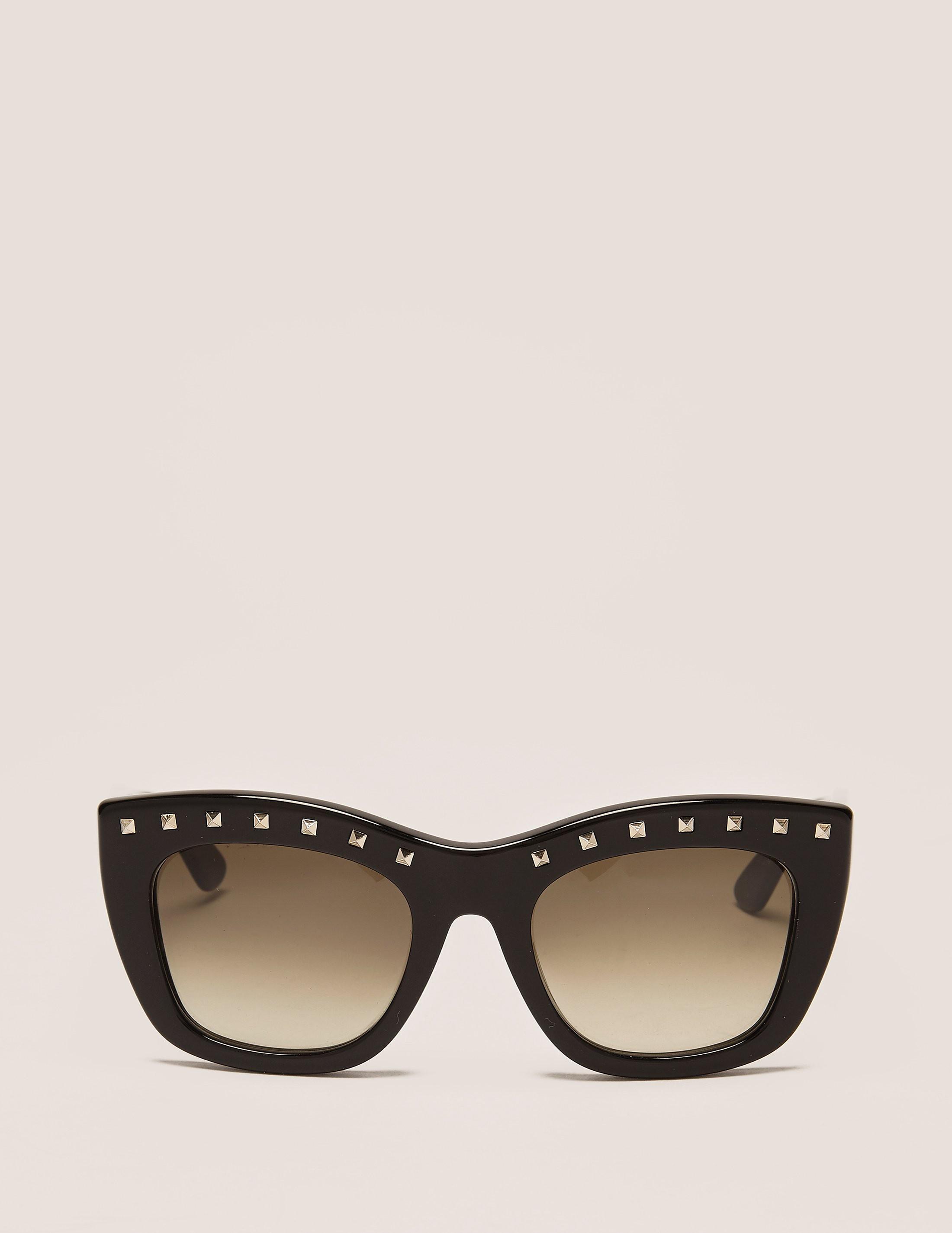Valentino Stud Sunglasses