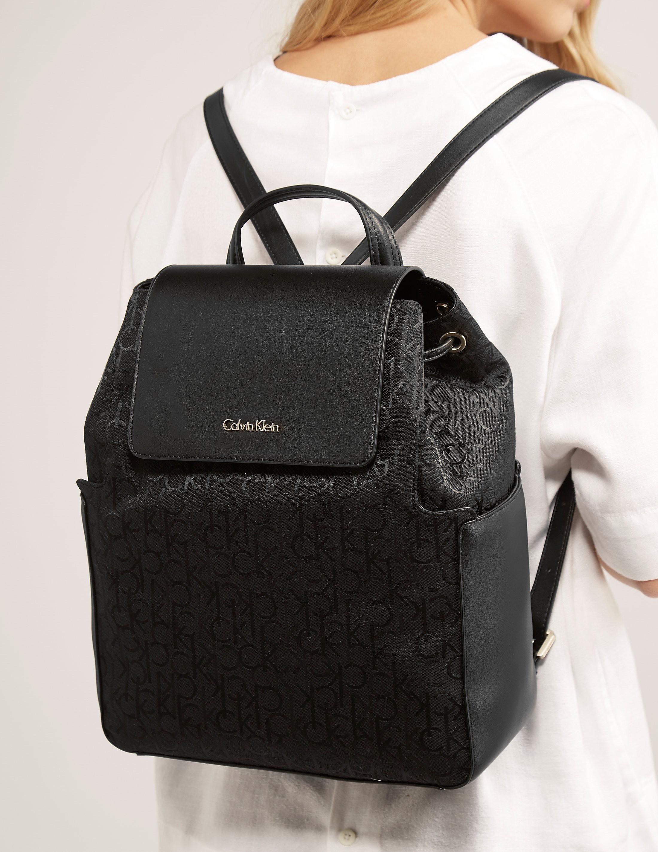 Calvin Klein Nin4 Logo Backpack