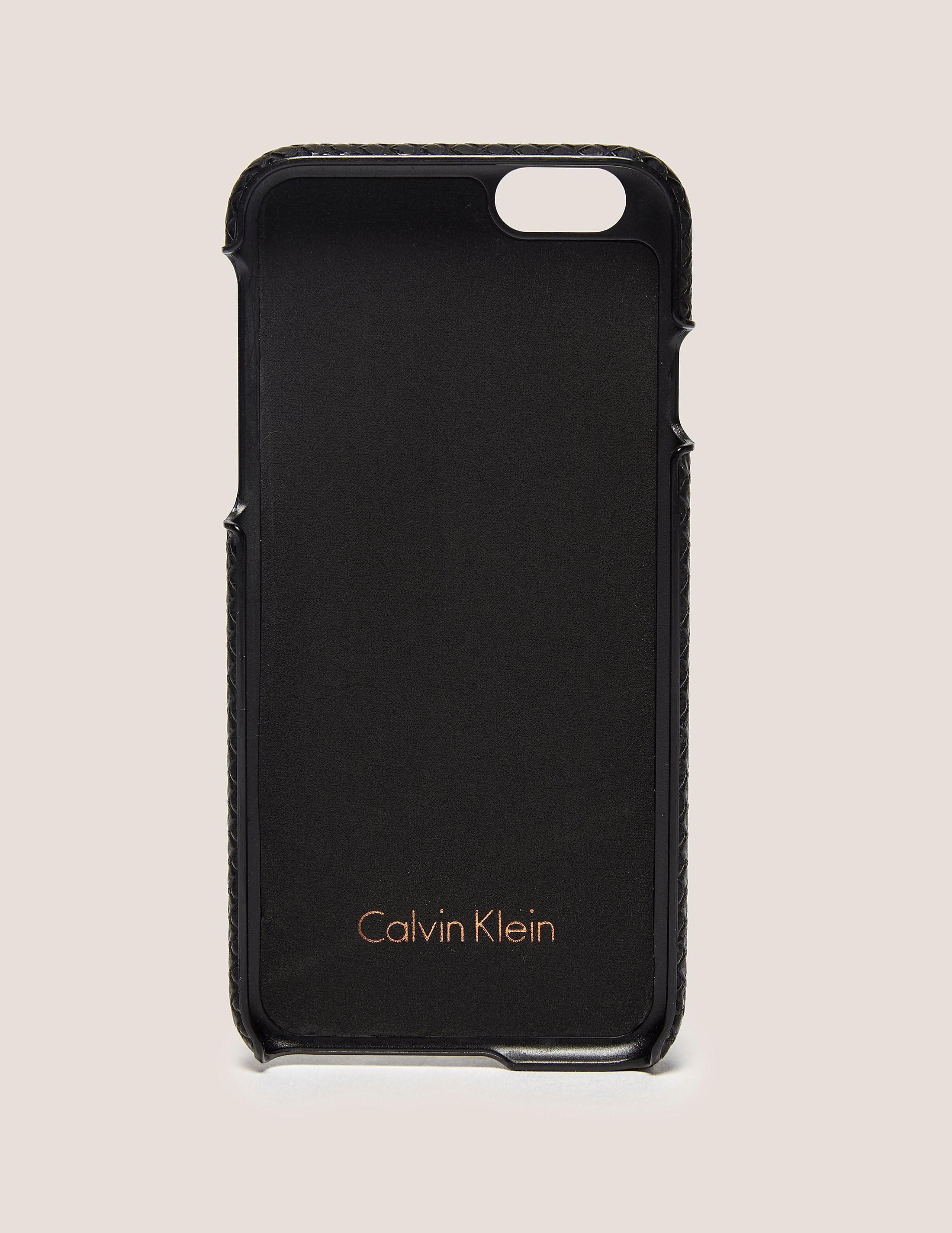 Calvin Klein Poppy iPhone 6S Cover