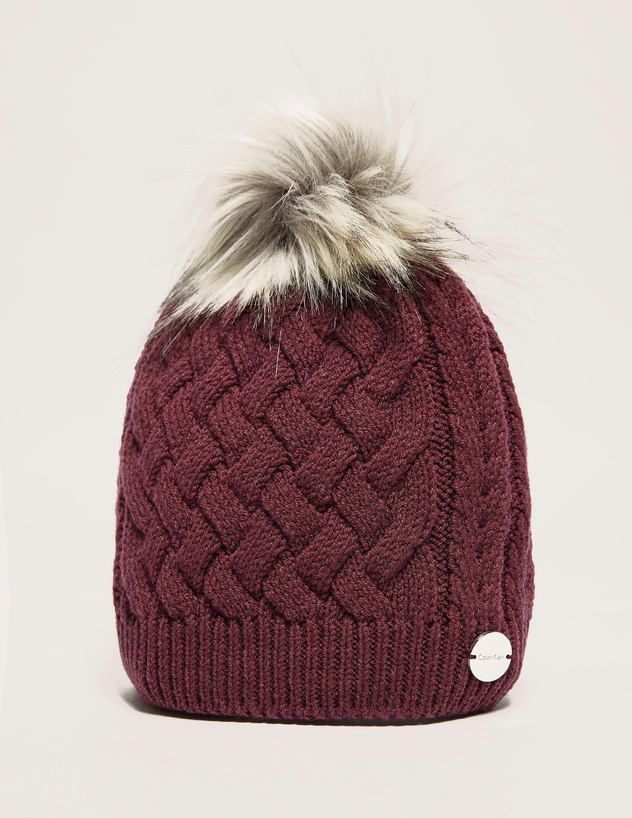 Calvin Klein Victoria Pom Pom Hat