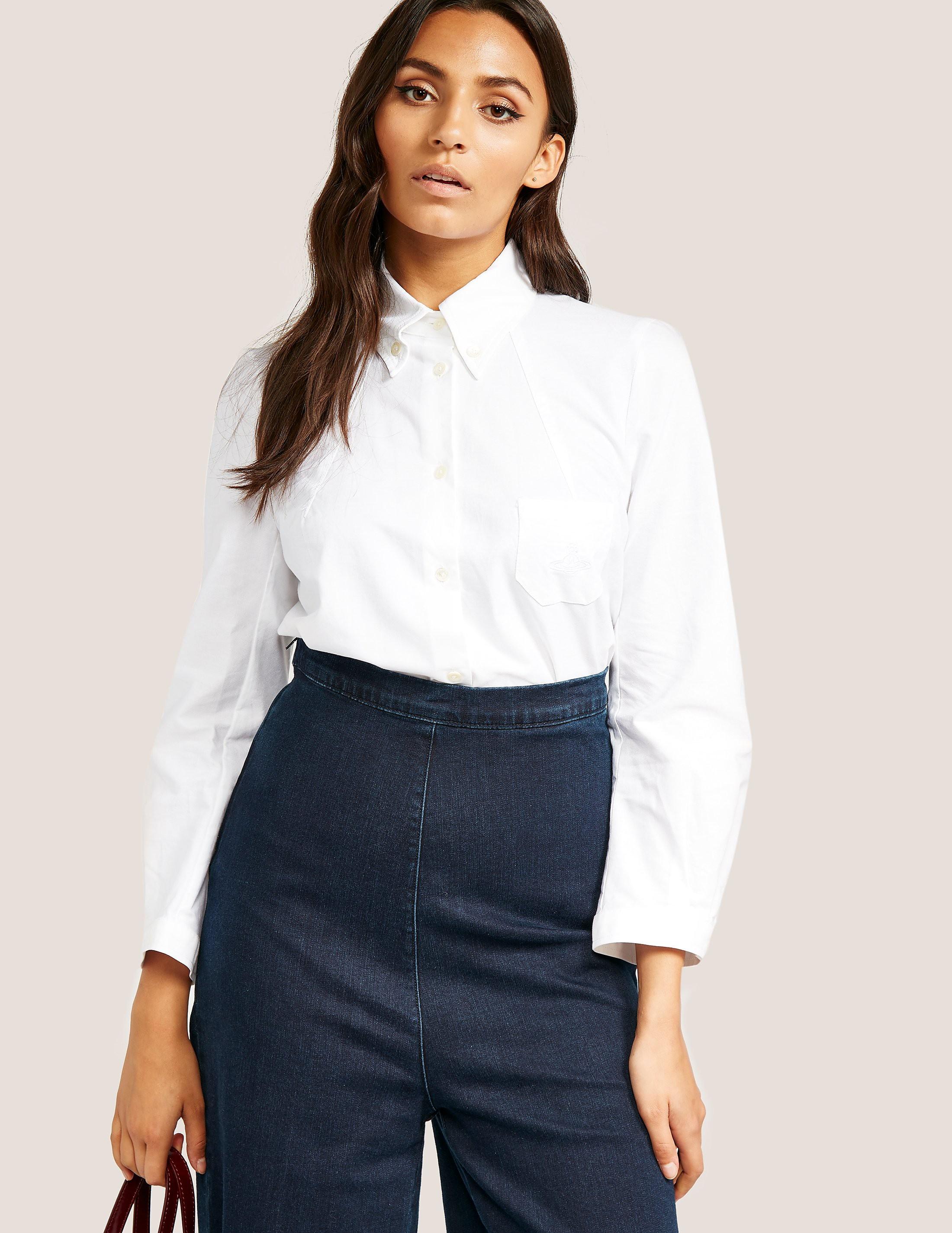 Vivienne Westwood Anglomania Plain White Shirt