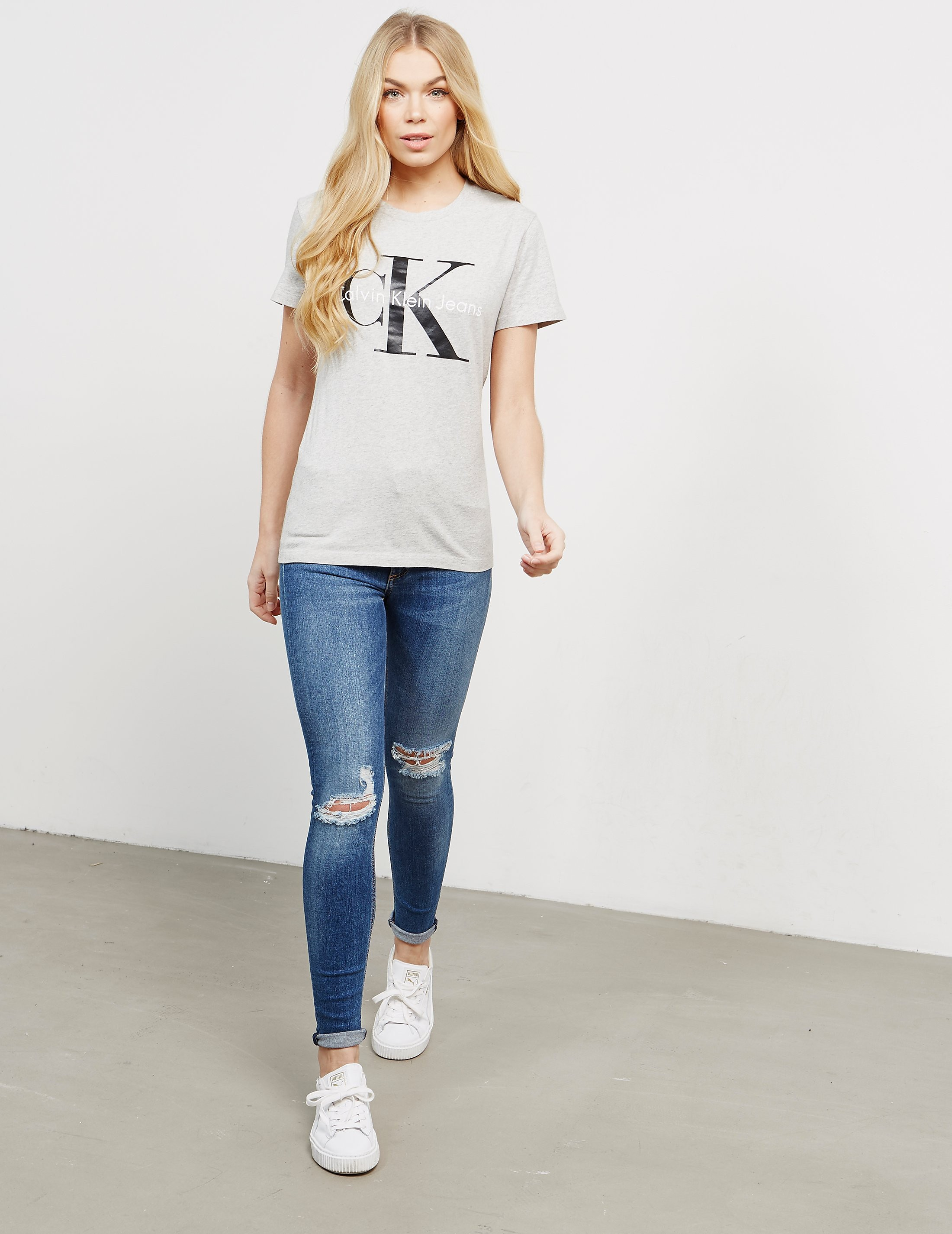 Calvin Klein Short Sleeve Shrunken T-Shirt