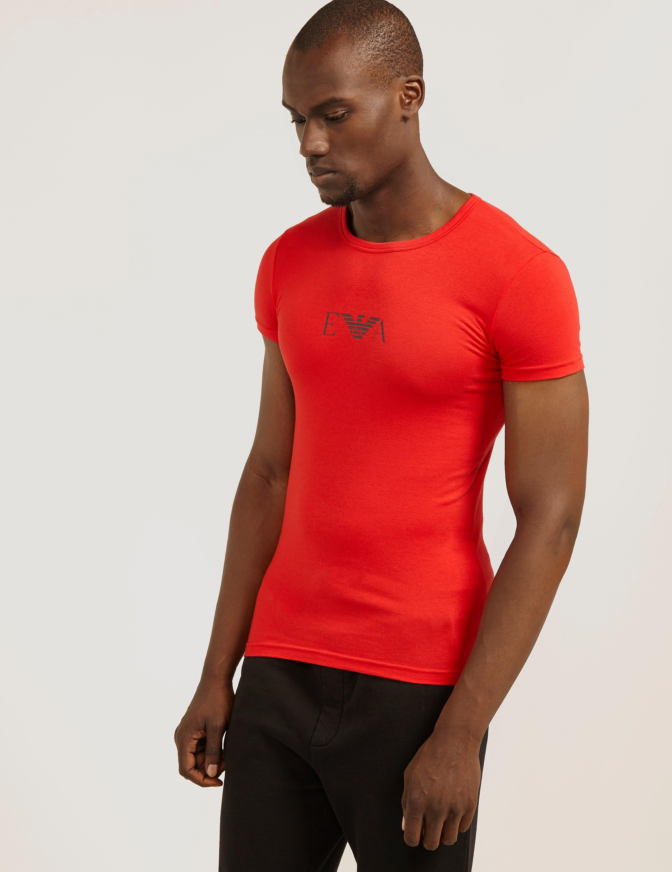 Emporio Armani Chest Eagle Short Sleeve T-Shirt